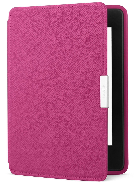 Amazon Kindle Paperwhite Lederhülle Fuchsien-Pink » pink ...