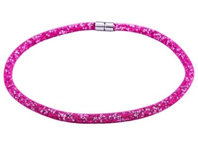 Screenshot_2018-07-17 Morella Damen Strass Glitzer Wickelarmband oder Halskette mit Magnetverschluss pink weiß Amazon de Sc[...](2)